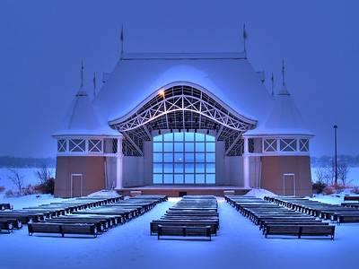 Lake Harriet Bandshell. Minneapolis, MN.