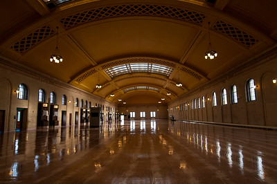 Inside the historic St. Paul Union Depot.