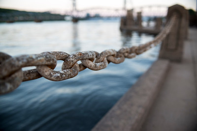 Rusty Chain Along the St. Croix River
