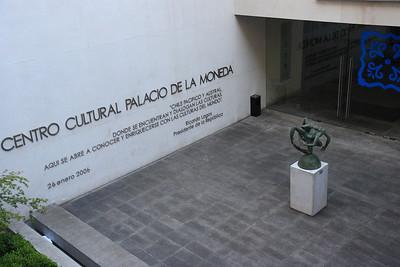 Cultural center  Palacio de la moneda
