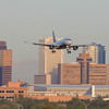 Early morning arrivals at PHX