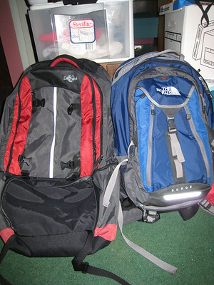 Around the World Backpacks and Packing