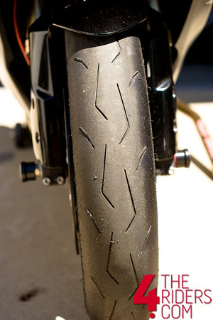 pirelli diablo supercorsa front tire wear tearing tear