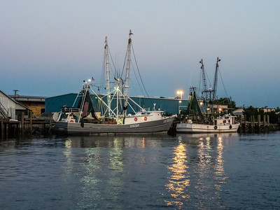 Shrimp Boats near Amelia Island, Florida
