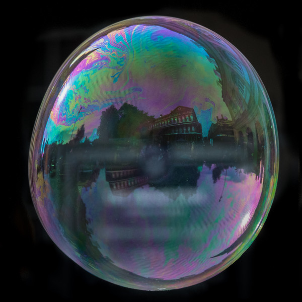 Bubble, Jackson Square, New Orleans