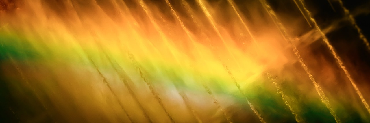 Bellagio Fountain Rainbow
