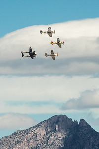WWII Warbirds over Catalina Mountains