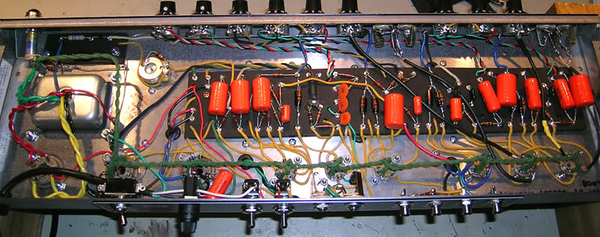 Marsh Amplification Deluxe Reverb Kit