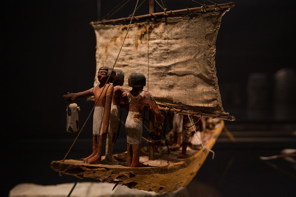 Boat from Egyption grave