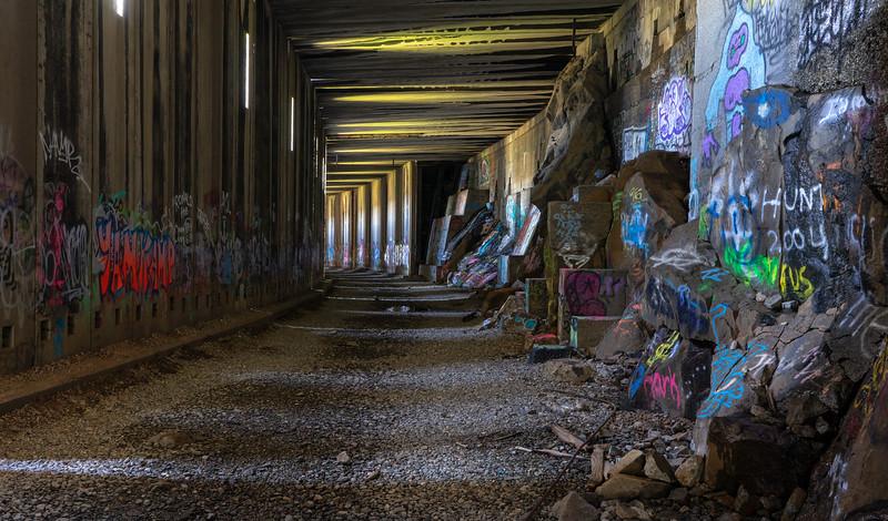 Donner Train Tunnel 4703