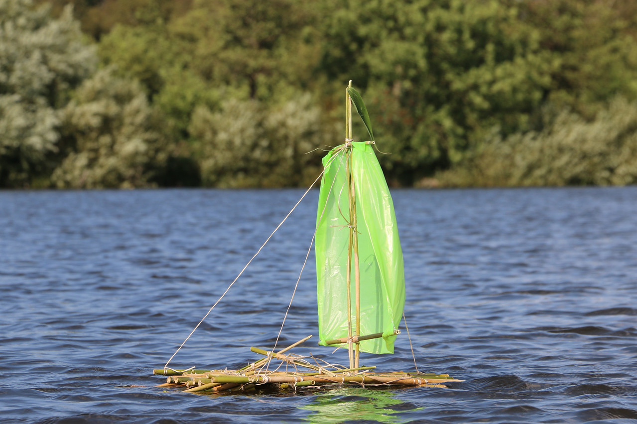 Loosdrecht, DIY Sailboat