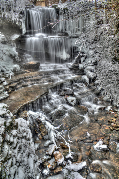 West Milton Cascades, Winter 1