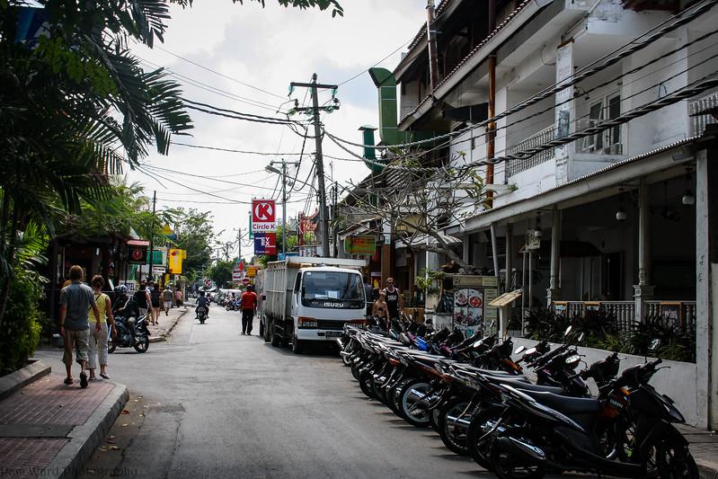Bali Streetscape