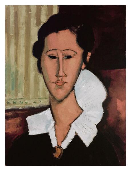 portrait of anna (hanka) zborowska