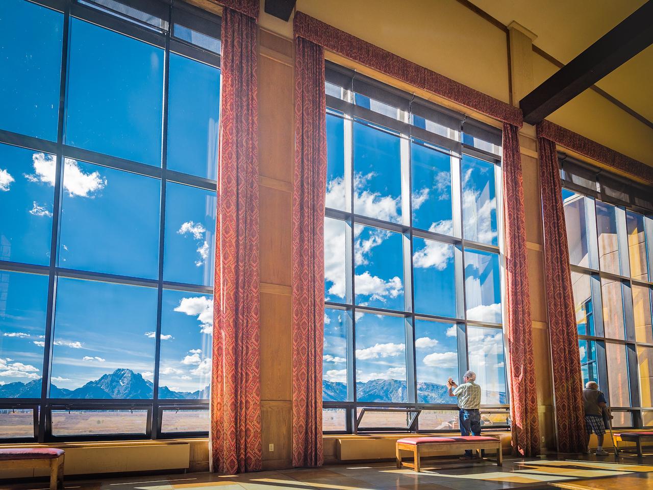 Grand Teton View from Jackson Lake Lodge