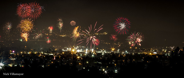 View from my house- Independence Day 2013