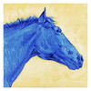 blue horse - profile 2005