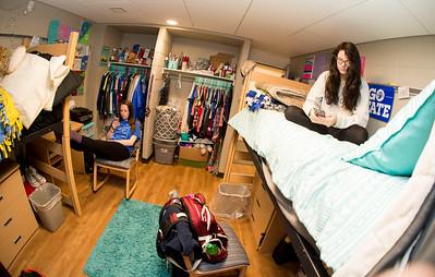 Mills Hall room