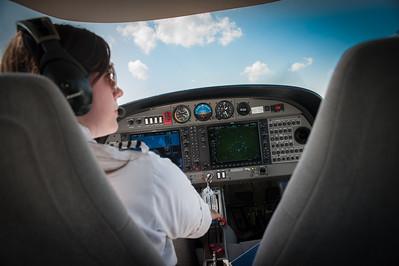 Flight academy images of planes in flight.
