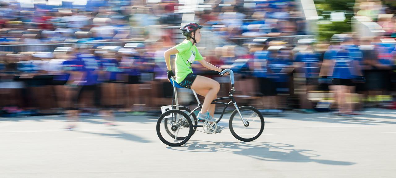 Trike Race at Homecoming 2013