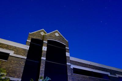 myers, technology, building, night