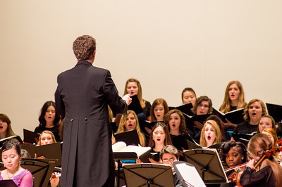 University Symphony Orchestra with Concert Choir