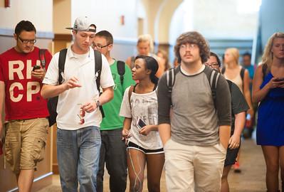 College of Education hallway