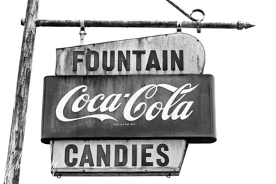 Fountain Coca-Cola and Candies