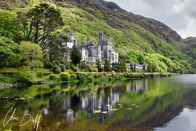 Kylemore Abbey, Ireland - 2016 Christopher Buff, www.Aviationbuff.com