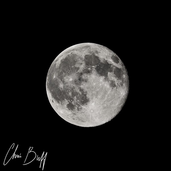 Super Moon 7/12/14 - By Christopher Buff, www.Aviationbuff.com