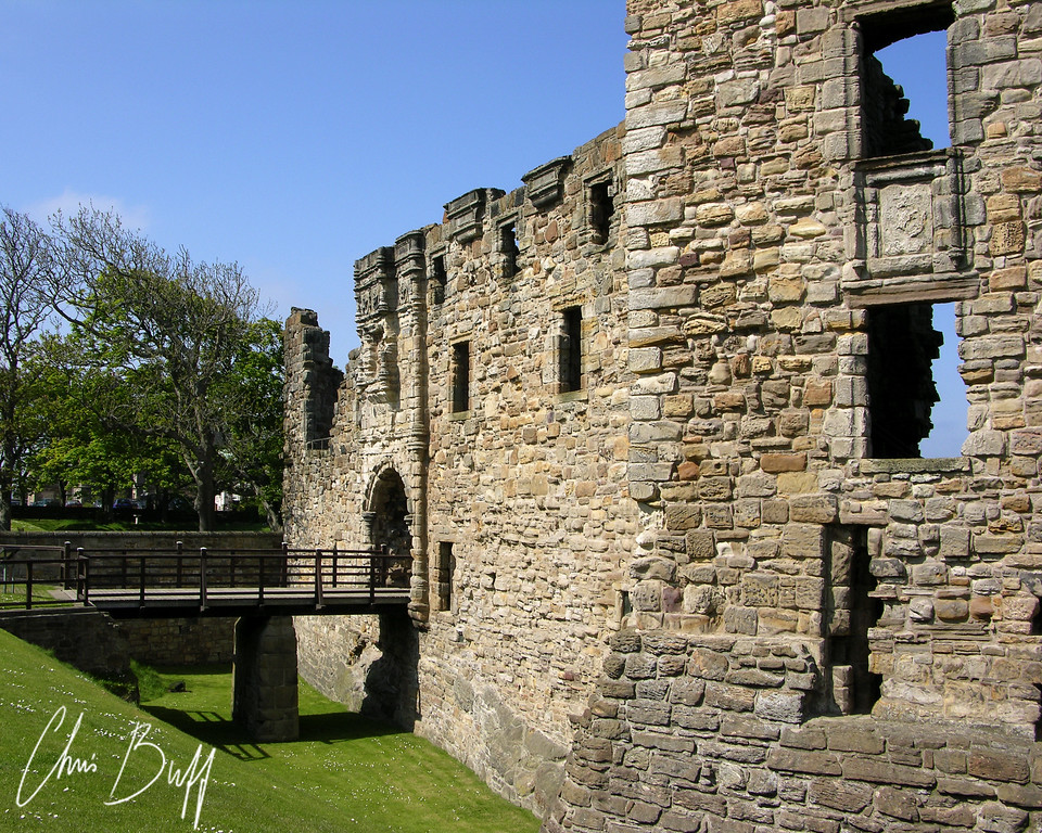 Ruins at St. Andrews Scotland 2005