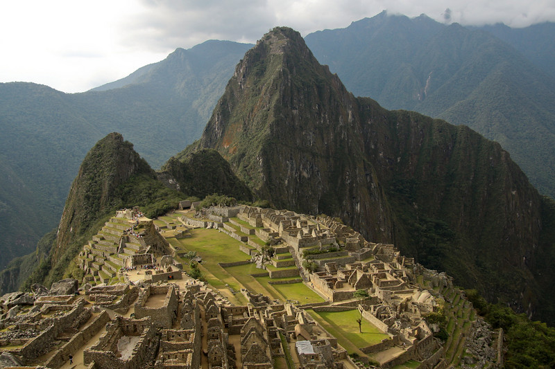 No trip to Peru is complete without a visit to Machu Picchu. This ancient royal Inca city was first seen by a westerner in 1911, so it must have already been abandoned when the Spanish Conquistadors came through Peru in the 1500s.