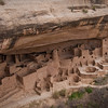 The massive Cliff Palace at Mesa Verde was built in the 1200s and is the largest pre-Columbian ruins site in the United States.