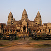 The main Hindu temple of Angkor Wat, Cambodia