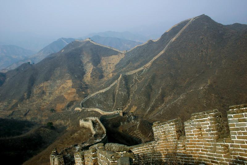 Great Wall, near Beijing, China