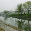 A moat in Jingzhou, Hubei province