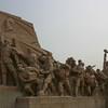 A monument near Chairman Mao's mausoleum, Tiananmen Square, Beijing