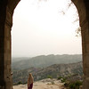 The archway of an old fort near Jammu, India