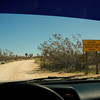 That's the kind of road sign I like to see! Joshua Tree National Park, California.