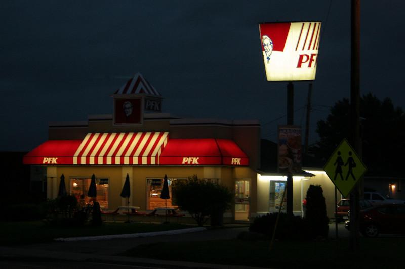'KFC' in French