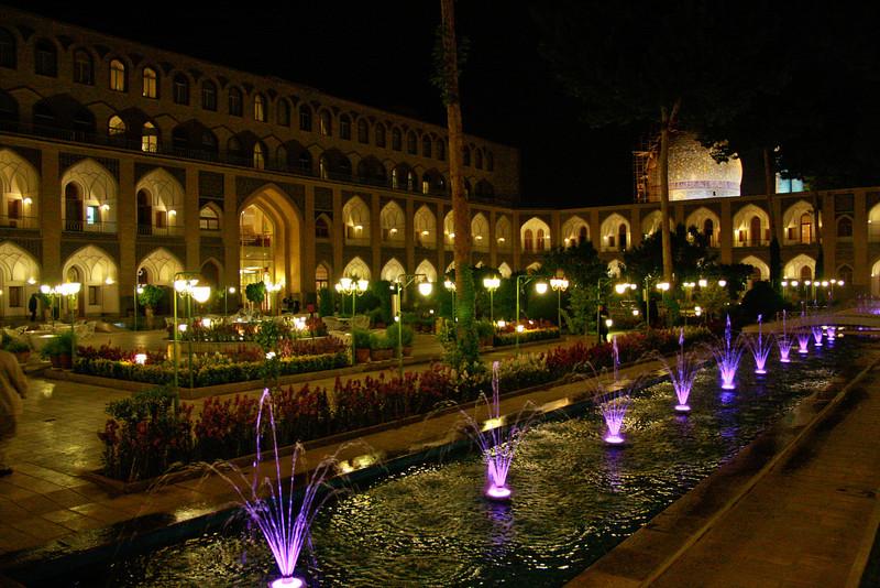 Our hotel in Esfahan, Iran was actually a converted caravanserai, originally built during the Silk Road era