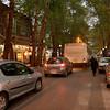 A suburban street in Mashhad, Iran