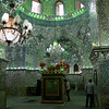 The interior of this shrine near Shiraz was entirely covered with tiny mirrors. Suffice to say, it was amazing.