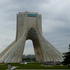 Photo courtesy of Erin. The Azadi (Freedom) Tower in Tehran.