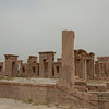 Considering they are 2500 years old, the ruins of Persepolis in Iran are amazing. At the time Persepolis was thriving, my own ancestors in northern Europe were running around in skins living in caves and huts.