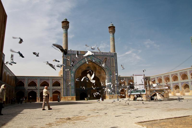 Masjid-e-Jameh, in Esfahan, Iran