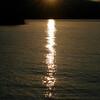 Sunrise over Lake Issykul