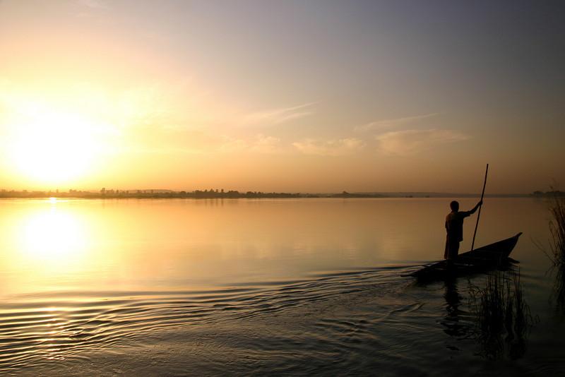 Niger River, Bamako, Mali