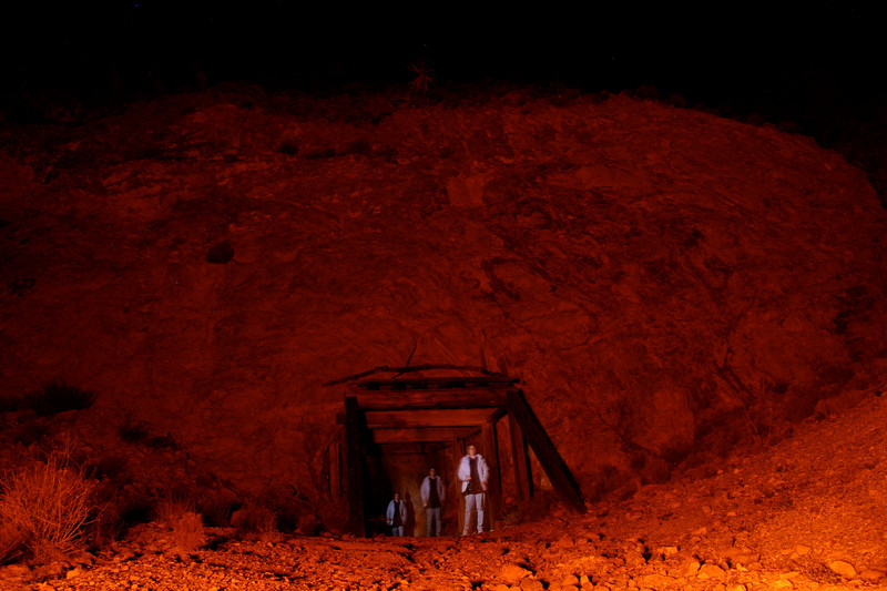 The Mojave Desert: a haunted mine...