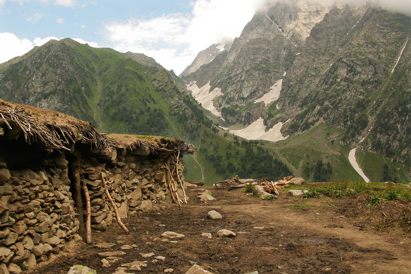 Room with a view. Lidder Valley, Kashmir